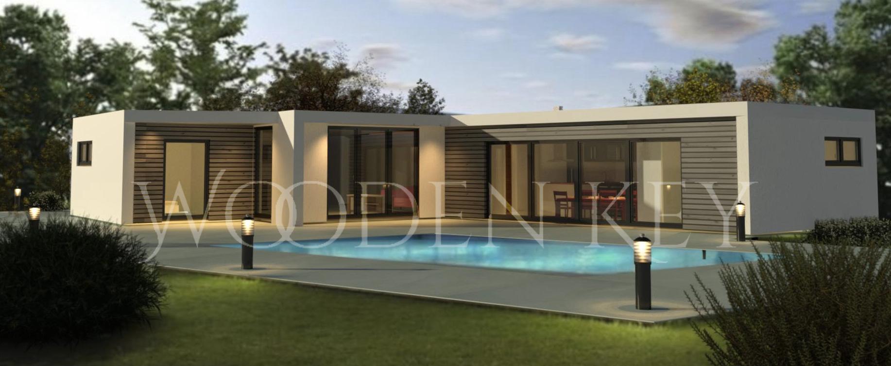 Maison fidji, réalisé par Wooden Key